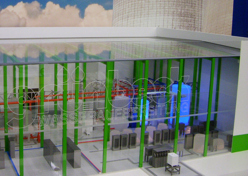 Wasseraufbereitung für Kraftwerk
